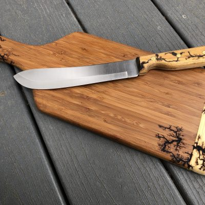 Charcuterie Board with Knife