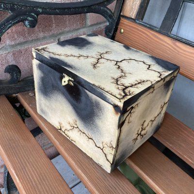 Burnt Jewelry Box