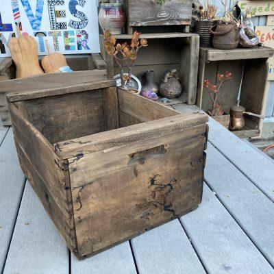 Burnt Walnut Box