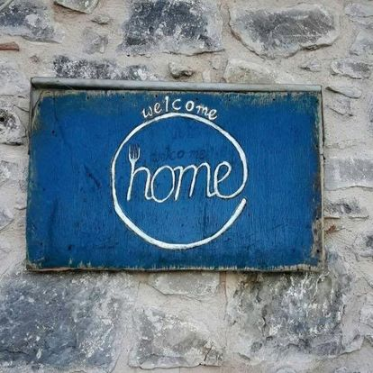 Home for a Day Sign