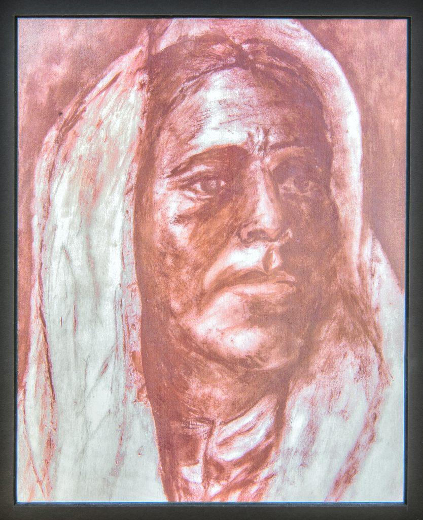 Native American Portrait Study