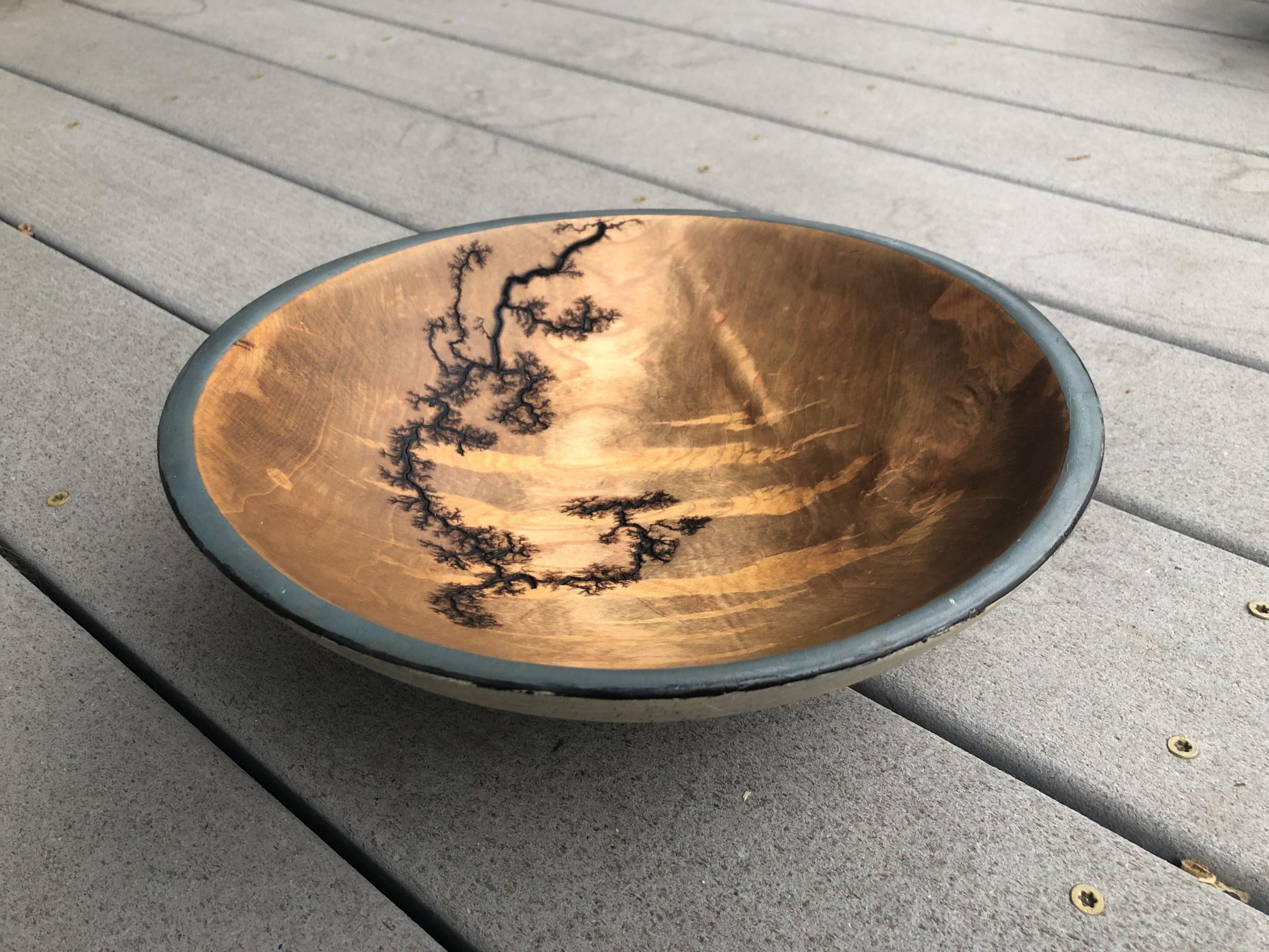 Painted Bowl Burn